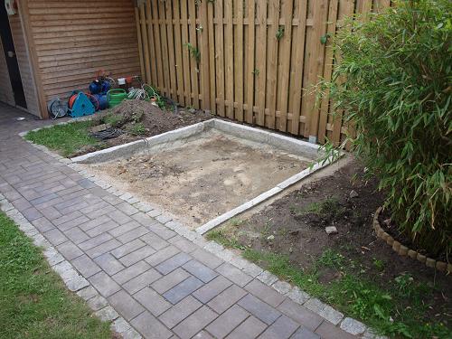 Whirlpool outdoor eingelassen  Praxisbeispiel - Gedämmtes Fundament für den Gartenwhirlpool ...