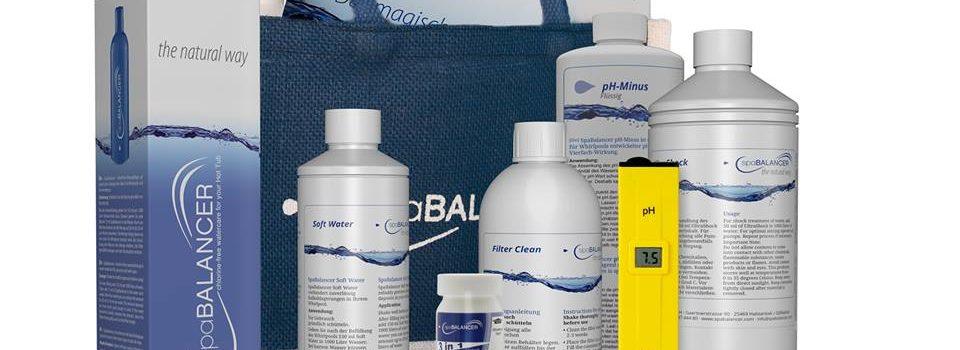 Reinigungsmechanismus von SpaBalancer – keine Chemie