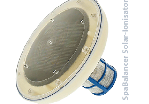Solar-Ionisator zur Wasserpflege